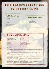 recettes soiree mexicaine