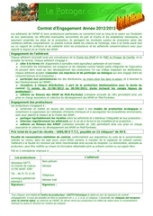 contrat legume 2012 2013