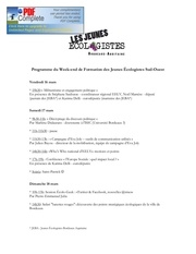 programme wef je sud ouest mars 2012 1