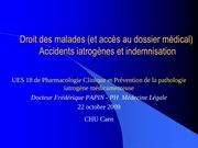 Fichier PDF accidents iatrogenes et indemnisation droit des malades 2008