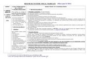 resume systeme fiscal marocain 2011 1