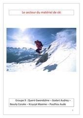 Fichier PDF cas le secteur du materiel de ski