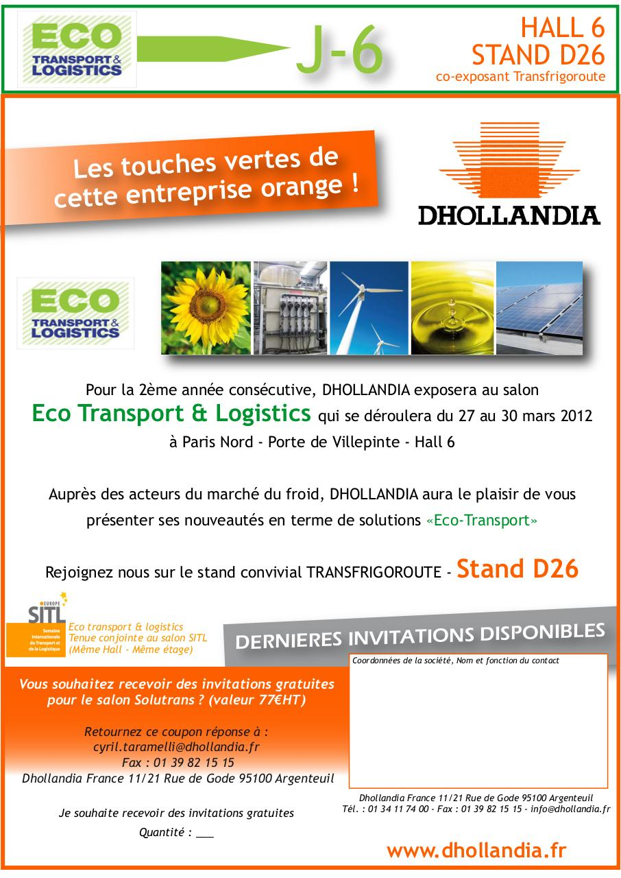 Aperçu du document Mailing n°2 Salon Eco Transport et Logistics 2012.pdf - page 1/1
