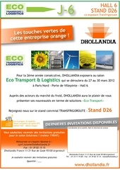 mailing n 2 salon eco transport et logistics 2012