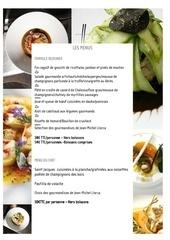 carte les menus 22 mars 2012
