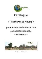 catalogue projet 2012