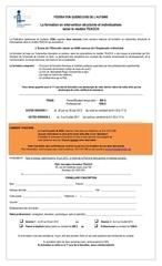 formulaire inscription teacch 2012