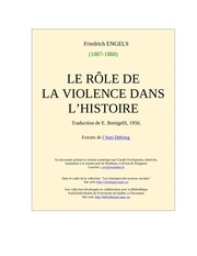 role violence histoire