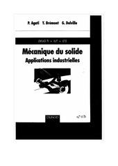 livre mecanique du solide theorie mecanismes