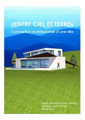 conception architecturale d une villa