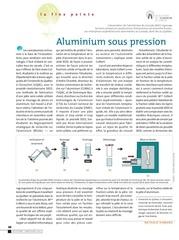 aluminium sous pression