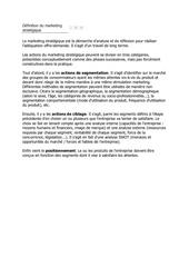 Fichier PDF definition du marketing strategique