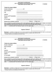 Fichier PDF prelevement