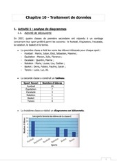 Fichier PDF traitement de donnees