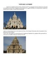 Fichier PDF voyage a paris