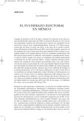 al giordano el pucherazo electoral en mexico nlr 41 2006