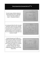 Fichier PDF story board carnaval