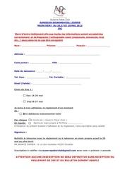Fichier PDF adhesion evenementiel loisir 2012mainevent