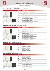 Fichier PDF commande et accessoire