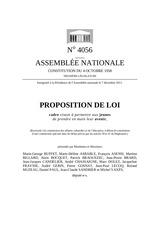 ppl 111205 loi cadre sur les jeunes