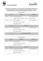 programme atelier de travail gafsa 2012