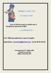 cours de p tisserie enfants mercredi 11 avril 2012