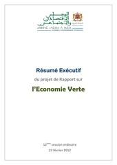 economie verte ces 2012