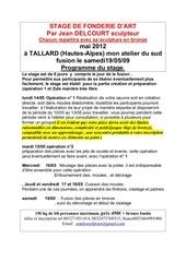 Fichier PDF stage fonderie 2012 mai