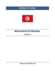 mega projects proposal dec 2011