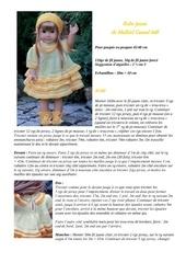 robe jaune de malfrid gausel 048 1
