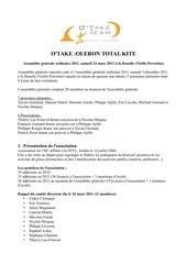 compte rendu ag otake 24 mars 2012