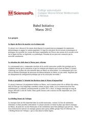 Fichier PDF description projets 1
