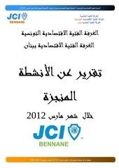 rapport mars 2012