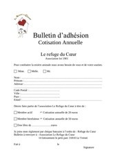 Fichier PDF bulletin d adhesion