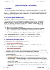 droit pharm 03 les produits pharmaceutiques