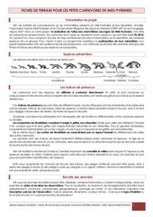 Fichier PDF fiches terrain petits carnivores