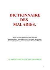 19999514 dictionnaire des maladies