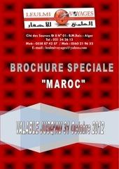 brochure maroc 2012 leulmi voyages
