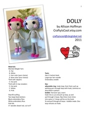 dolly lalaloopsy craftyiscool
