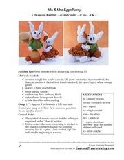 mr mrs egg o bunny