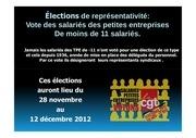 diaporama elections professionelles 11 salaries 31 01 2012 mode de compatibilite
