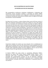 nota de rep dio do coletivo purus