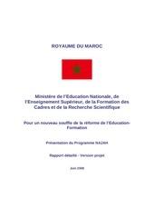 presentation du programme d urgence edition 2008
