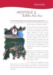 bulletin akoitique hors serie 2 2012