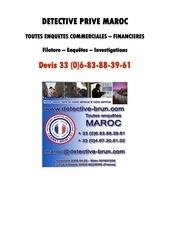 Fichier PDF detective maroc