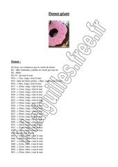 Fichier PDF donut geant