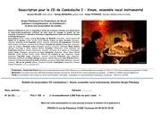 Fichier PDF souscription cd