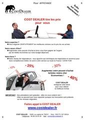 affiche cost dealer sur votre departement