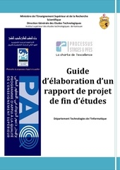 guide elaboration rapport pfe