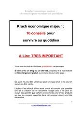 kracheconomiquemondial16 conseils